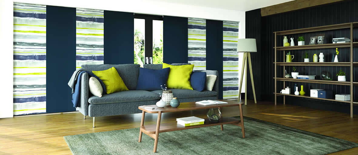 Panel blinds are the perfect way to get creative in your home