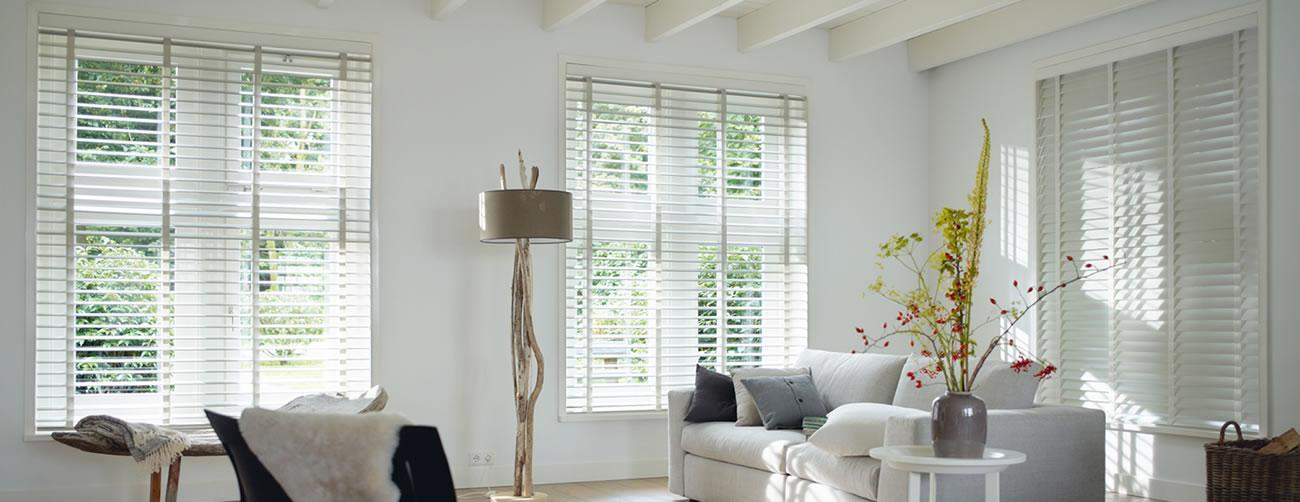 wooden wood faux ready white contemporary venetian blind blinds made