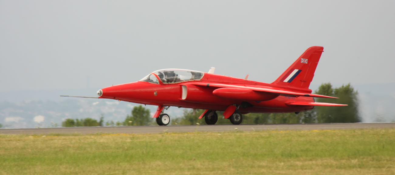 Folland Gnat at Biggin Hill in 2009