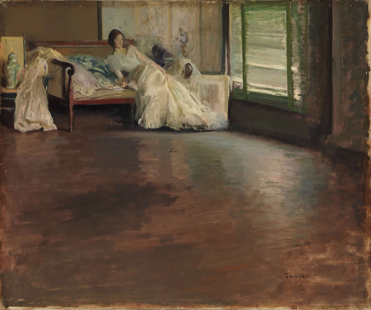 Across The Room painted by Edmund Tarbell
