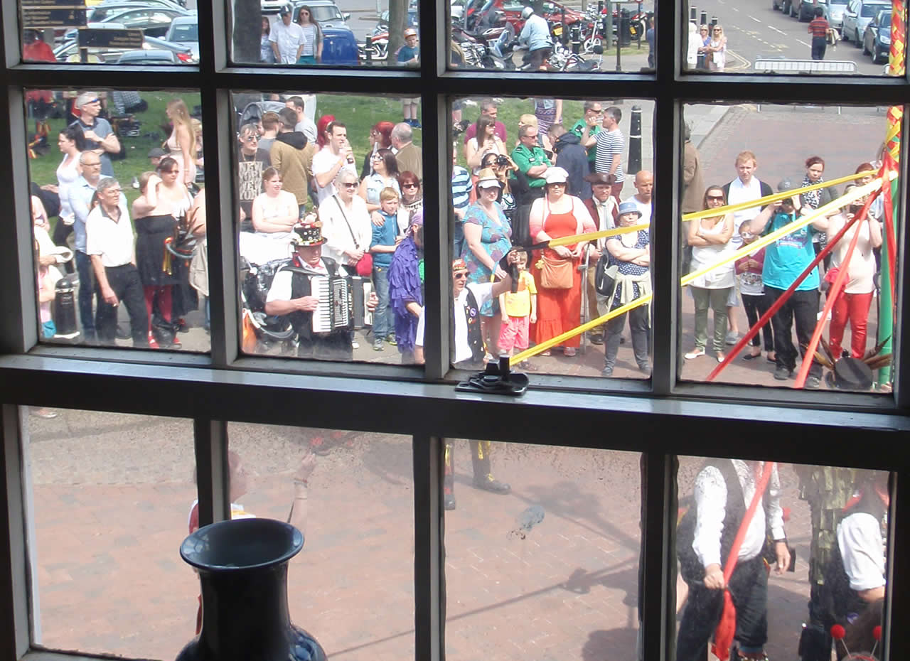 Rochester Sweeps Maypole celebration