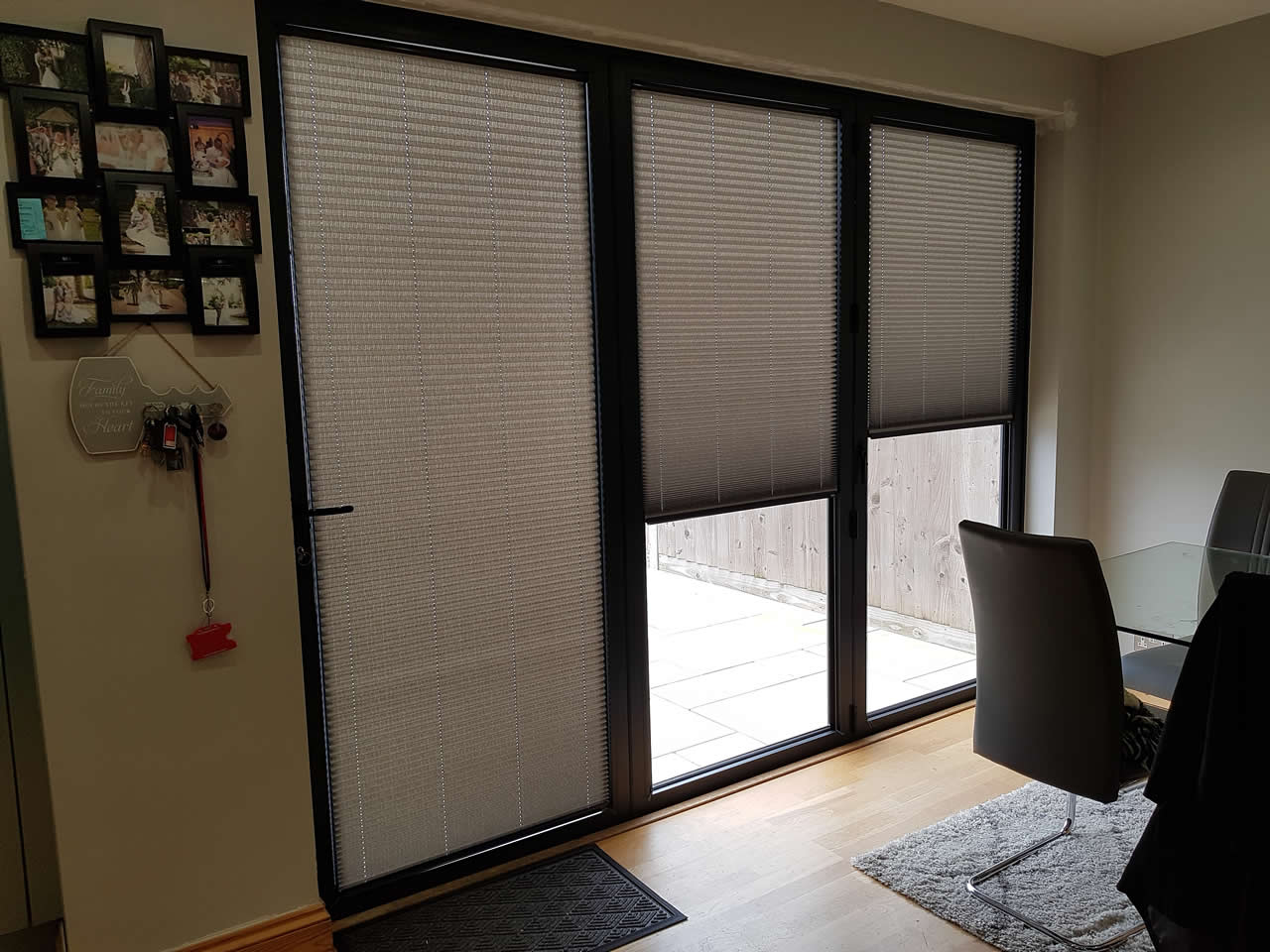 Intu micro blinds in Ribbons ASC Pewter