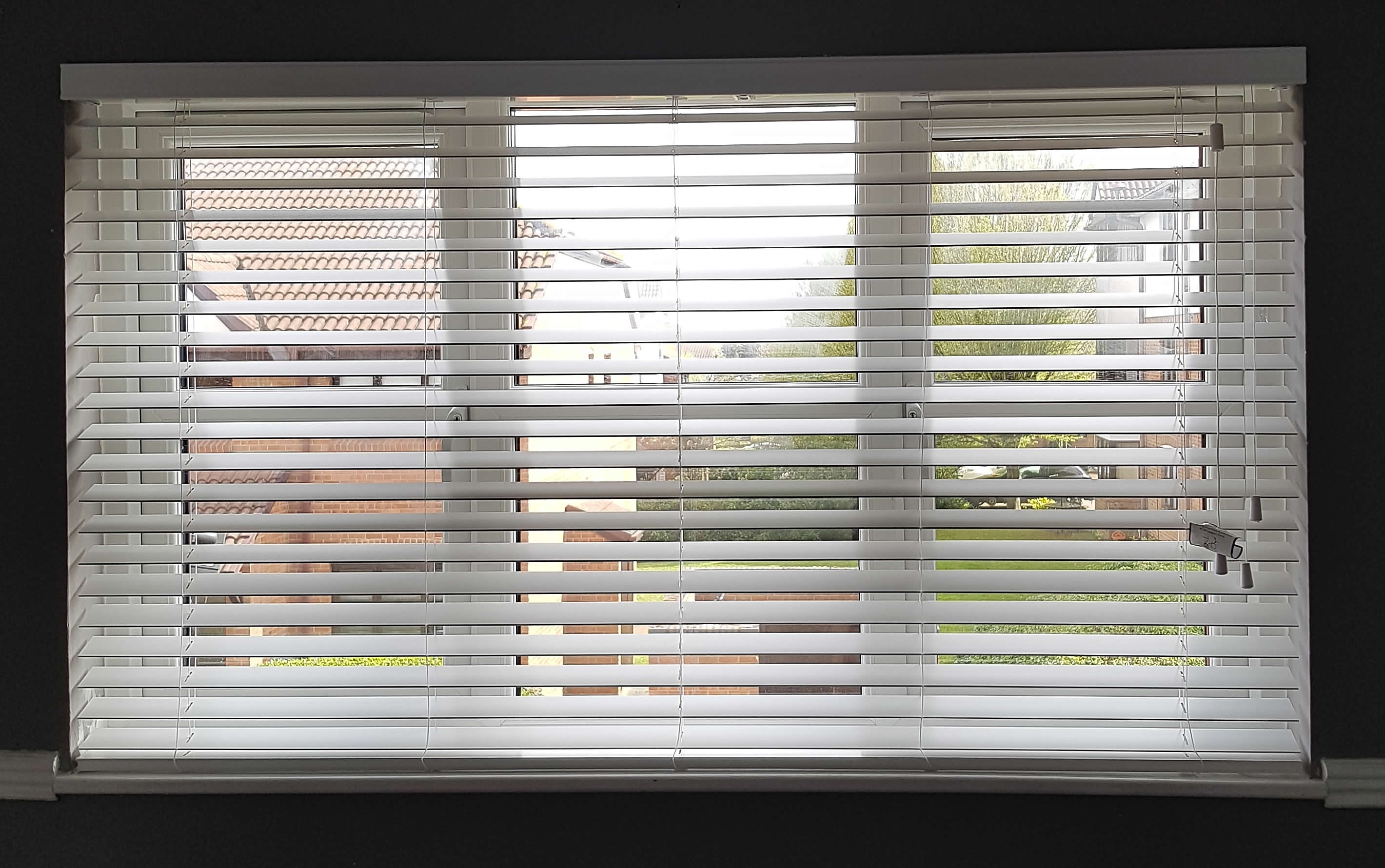 Front view of recent blinds project in Greenhithe